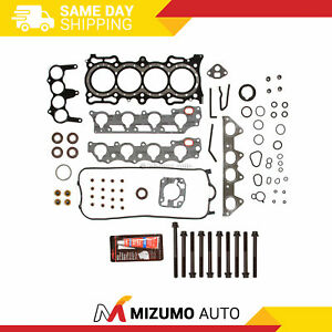 Head Gasket Bolts Set Fit 98 02 Honda Accord Odyssey Acura Isuzu Vtec 2 3 F23a1