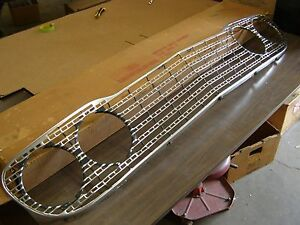 Oem Ford 1960 Fairlane Galaxie Aluminum Grille New Car Take Out
