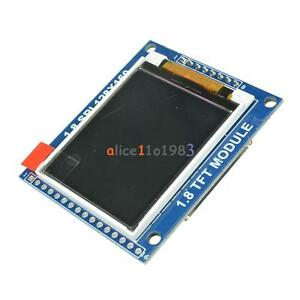 1 8 Inch Mini Serial Spi Tft Lcd Module Display With Pcb Adapter St7735b Ic