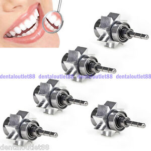 5pcs Dentist Air Turbine Dental Cartridge Rator Large Torque Push Button