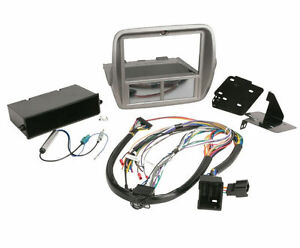 Scosche Itcgm01b Single double Din Dash Install Kit Chevy Camaro Antenna
