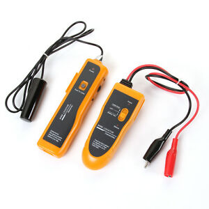 Underground Wire Circuit Network Cable Tester Locator Tracker Finder Earphone