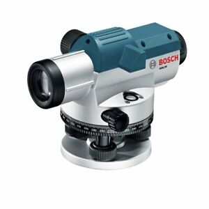 Bosch Gol26 26x 1 16 inch Magnetic Dampening Automatic Lock out Optical Level