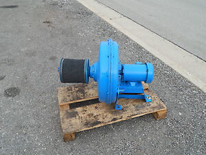 North American Industrial Blower Gg 487 8mgn Air maze Filter 1hp 3450rpm Motor
