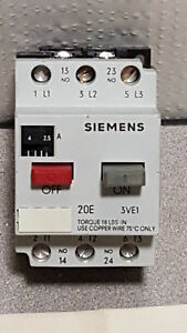 Siemens Msp10j Manual Starter With Overload Protector Open Type