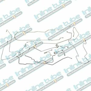 1995 99 Chevrolet Gmc 2500 Suburban Brake Line Set 4wd 3 4 Ton Stainless