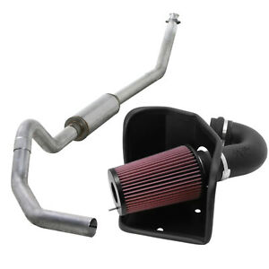 Diamond Eye Exhaust System K n Cold Air Intake For 94 02 Ram 5 9l Cummins