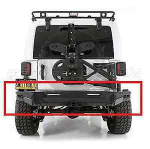 Smittybilt 76614 Src Gen2 Rear Bumper For Jeep Wrangler Jk
