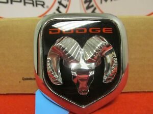 Dodge Ram Rams Head Medallion New Oem Mopar