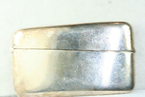 Antique Colonial Indian Hamilton Co Sterling Silver Card Case