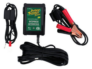 Deltran 6v 1 25a Deltran Battery Tender Jr Charger Maintainer 022 0196