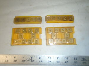 Machinist Tool Lathe Mill Machinist Carbide Inserts Bits Lt 14 Kennemetal Etc