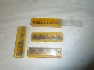 Machinist Tool Lathe Mill Machinist Carbide Inserts Bits Lt 15 Kennemetal Etc