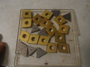 Machinist Tool Lathe Mill Machinist Carbide Inserts Bits Lt 23 Unused