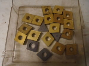 Machinist Tool Lathe Mill Machinist Carbide Inserts Bits Lt 24 Unused