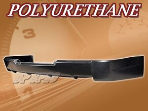 For 08 14 Mitsubishi Lancer Sport Style Rear Bumper Lip Body Spoiler Kit Pu