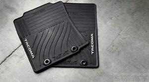 Oem Toyota Tacoma 2012 2015 Front All Weather Floor Mats Set Of 2