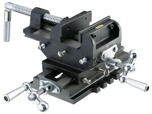 New 5 Metal Milling Cross Drill Press Vise Slide 2 Way X y Clamp Machine
