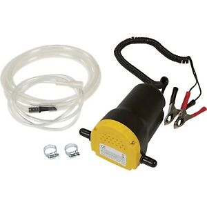 New 12v Oil Diesel Fuel Fluid Extractor Electric Transfer Scavenge Suction Pump
