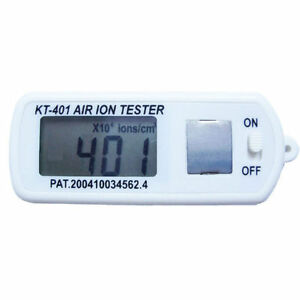 Air Ion Tester Meter Counter Test Count ve Negative Ions With Peak Maximum Hold