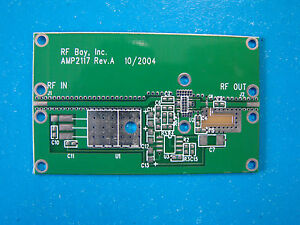 Develop Pcb For Pacific Monolithics Pm2117 2 4 2 5ghz Mmic Power Amplifier
