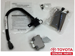 07 2013 Oem Factory Toyota Fj Cruiser Trailor Tow Hitch Convertor Harness Kit