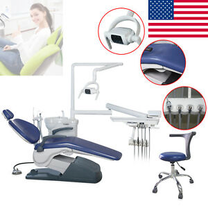 Dental Chair Unit Computer Control Hard Leather Fda stool Exam Chair Oral Dentis