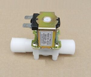 1 2 N c Ac220v Magnetic N c Electric Solenoid Valve Water Air Inlet Flow Switch