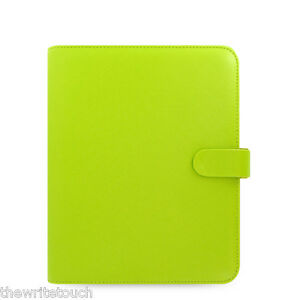Filofax A5 Saffiano Leather like Organizer Pear 022533 2018 Diary