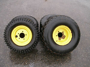 4 John Deere 4 X 2 Gator Tires And Wheels