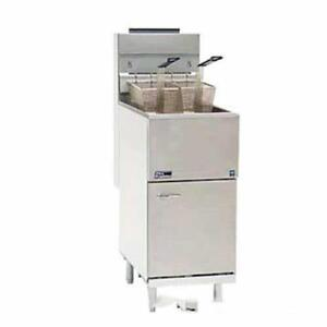 Pitco 65c s Economy 80 Lb Gas Fryer