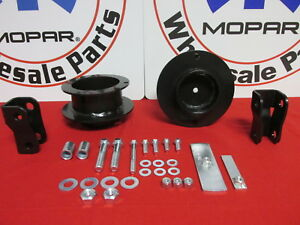 Dodge Ram 4wd 2500 3500 2013 2018 Superlift 2 5 Coil Spring Spacer Leveling Kit