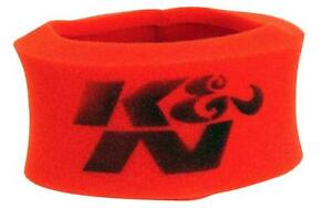 K N 25 3460 Red Airforce Pre Cleaner Foam Wrap For Oval Filter
