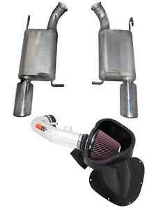 Gibson Exhaust System K n Cold Air Intake Kit For Mustang Gt 5 0l V8