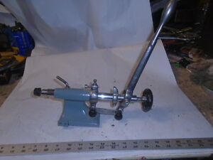 Machinist Lathe Mill Machinist Schaublin Jewelers Swiss Lathe Lever Tail Stock