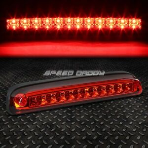 For 99 16 Ford Super Duty Red Led Third 3rd Tail Brake Light Rear Stop Lamp