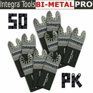 50pk Fast Cut Wood Oscillating Multi Tool Saw Blade Fit Fein Makita Dremel Bosch