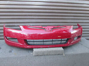 Honda Accord Coupe 2dr Front Bumper Cover Oem 2003 2004 2005