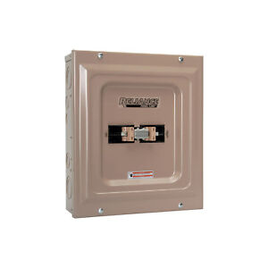 Reliance Generator Transfer Switch 60 Amp 240v tca0606d
