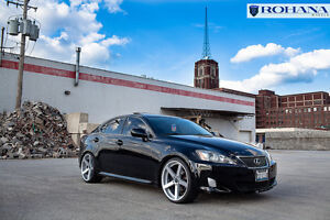 20x9 35 20x10 40 Rohana Rc22 5x114 3 Silver Rim Fit 2007 Lexus Is250 Staggered