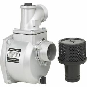Semi trash Water Pump Only for Straight Keyed Shafts 3in Ports 14 265 Gph 109281