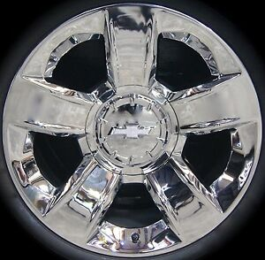 1 New 2014 18 Chevy Silverado Suburban Tahoe Factory 20 Chrome Wheel Rim 5651