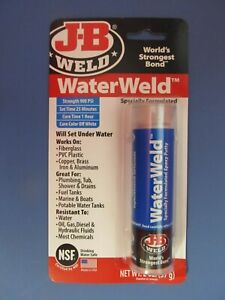 Jb Weld Water Weld Epoxy Putty 2 Oz 8277 New