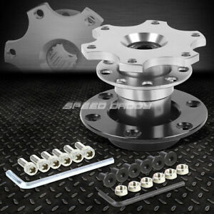 6 Hole Steering Wheel 1 Pull Ball Bearing 2 Short Quick Release Hub Adapter Kit