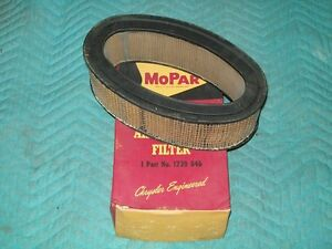 1957 Plymouth Dodge Desoto 57 58 Chrysler Imperial Nos Mopar Air Cleaner Filter