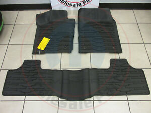 Jeep Grand Cherokee 2011 2012 Rubber Slush Mats New Oem Mopar