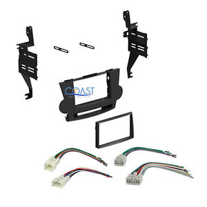 Single Double Din Car Stereo Dash Kit Harness For 2008 2011 Toyota Highlander