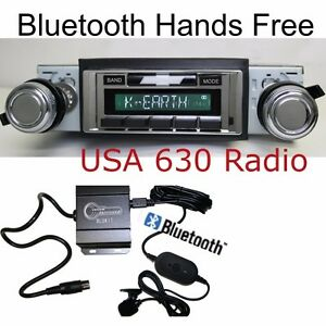 Bluetooth 66 67 Nova Chevy 2 Radio Usa 630 Ii Am fm Ipod Dock Usb 300 Watt