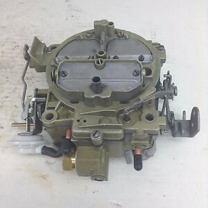 Rochester Carburetor 7041213 1971 Corvette 350 Engine Manual Trans Dated 1251