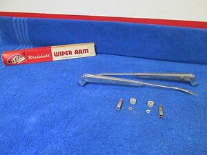 1959 60 Chevy Oldsmobile Plymouth Buick Trico Wiper Arms Pair Nos Trico 116